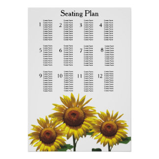 Sunflowers Inexpensive Wedding Packages Sets Kits Poster