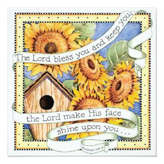 Sunflowers - Invitation