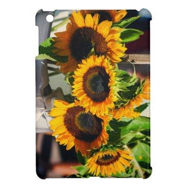 partridgelanestudio SunFlowers iPad Mini Case