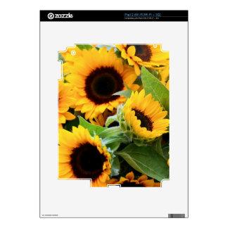Sunflowers ipad Skin