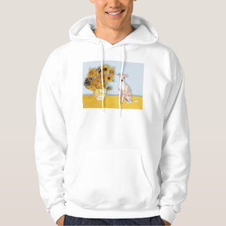Sunflowers - Italian Greyhound 5 Hooded Sweatshirt