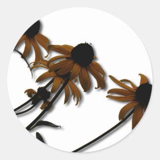 Sunflowers: Kansas Grown Classic Round Sticker