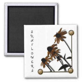Sunflowers: Kansas Grown Magnet