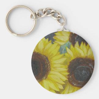 Sunflowers Keychains