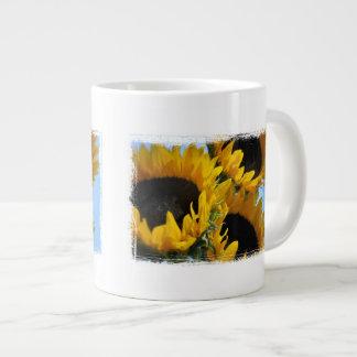 Sunflowers Large Coffee Mug