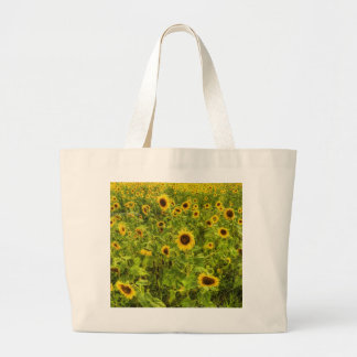 Sunflower's Large Tote Bag