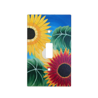 """Sunflowers"" Light Switch Cover"