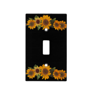 Sunflowers Light Switch Cover