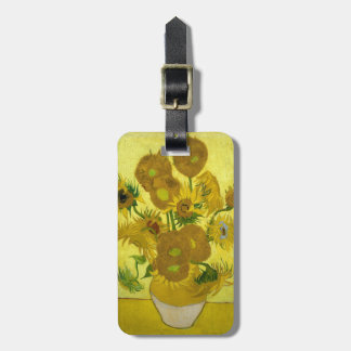 Sunflowers Tags For Luggage