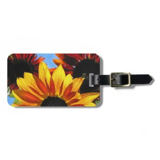 Sunflowers Luggage Tag
