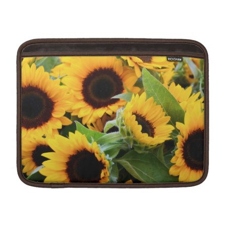 Sunflowers Macbook Air Sleeve