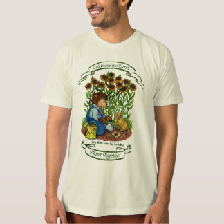 Sunflowers, Make Every Day Earth Day T-Shirt