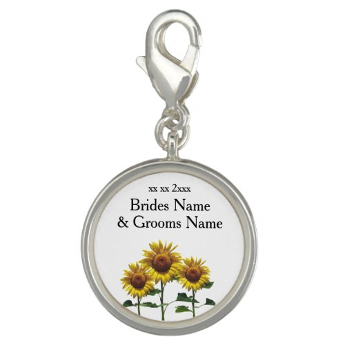 Sunflowers Modern Simple Elegant Wedding Ideas Charm