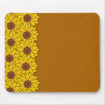 Sunflowers mousepad, customize