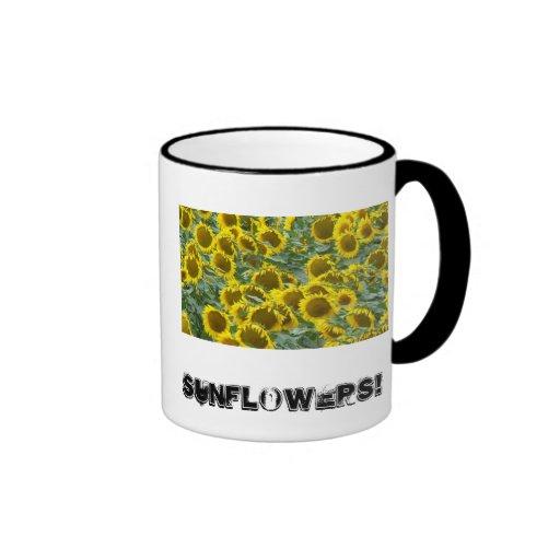 Sunflowers! Mugs