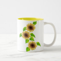 SUNFLOWERS mugs