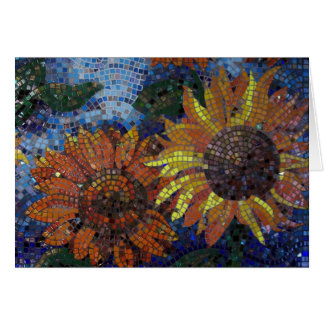 Sunflowers notecard