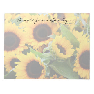 Sunflowers Notepad