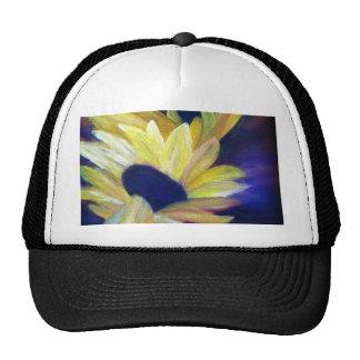 Sunflowers Oil Painting Trucker Hats