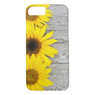 Sunflowers on a table iPhone 8/7 case