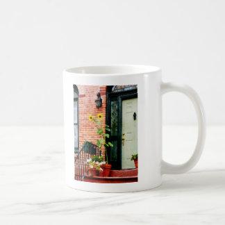 Sunflowers on Stoop Mug