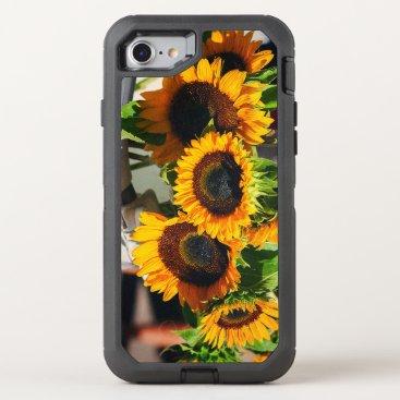 partridgelanestudio SunFlowers OtterBox Defender iPhone 7 Case