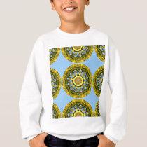 Sunflowers, pattern, Flower-Mandala Sweatshirt