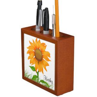 Sunflowers Pencil Holder