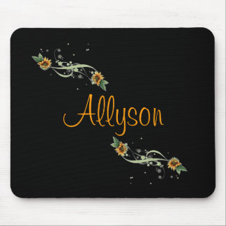 Sunflowers Personalized Mousepad