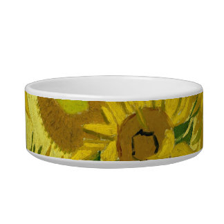 Sunflowers Pet Bowl
