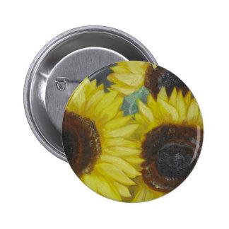 Sunflowers Pin