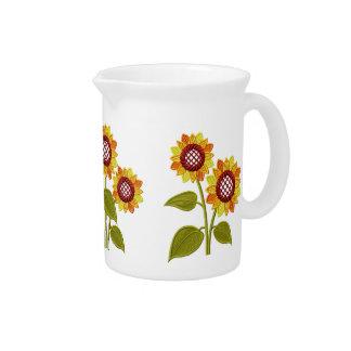 Sunflowers  Pitcher