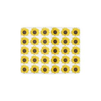 Sunflowers Pocket Moleskine Notebook