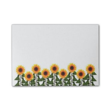 Christmas Themed Sunflowers Post-it-Notes Post-it Notes