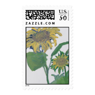 """Sunflowers"" Postage"