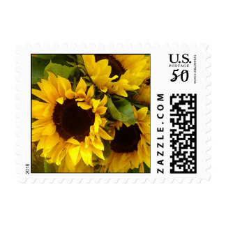 Sunflowers Postage