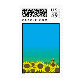 Sunflowers Postage Stamps
