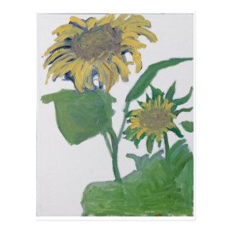 """Sunflowers"" Postcard"