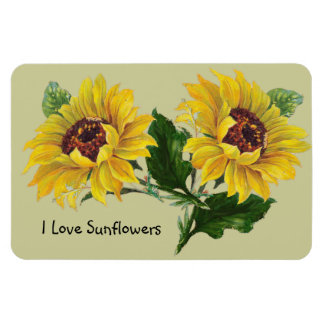 Sunflowers Flexible Magnets