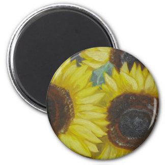 Sunflowers Refrigerator Magnets