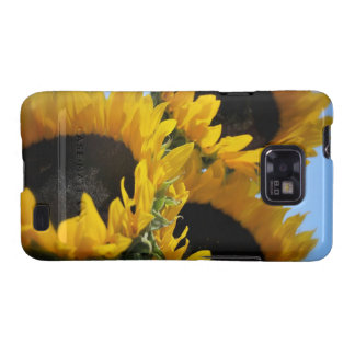 Sunflowers Samsung Galaxy S2 Barely There Case Samsung Galaxy SII Cover