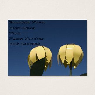 Sunflowers Sculpture Business Card