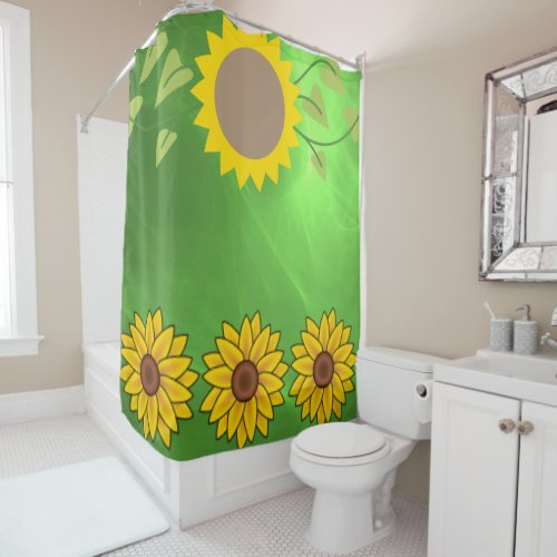 Sunflowers Shower Curtains