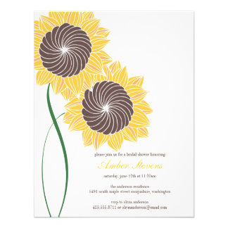 Sunflowers Shower/Party Invitation