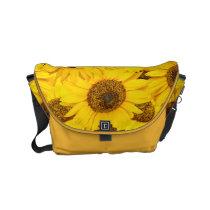 Sunflowers Small Messenger Bag