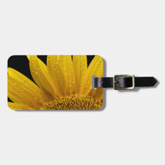 Sunflowers soaking up the sun travel bag tag
