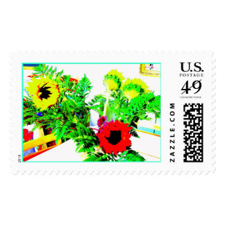 Sunflowers Stamps