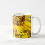 SUNFLOWERS, SUN FLOWER COFFEE MUG TRAVEL MUGS Cups