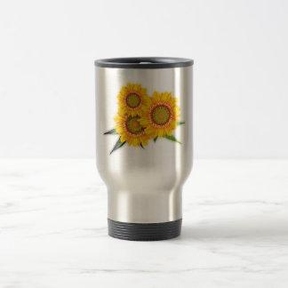 Sunflowers sunflowers mugs