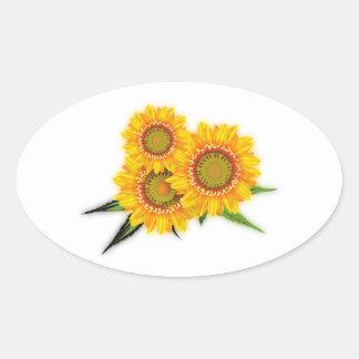 Sunflowers sunflowers sticker
